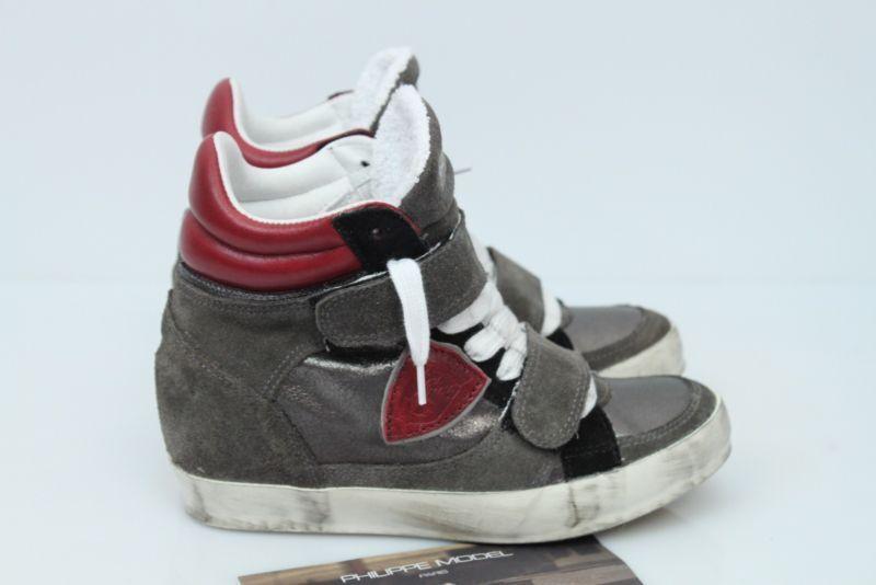 Scarpe MIS. Philippe Model Donna shoes ОБУВЬ,PIAF EDITH antracite MIS. Scarpe 35 AA 13 ! aeaa7c