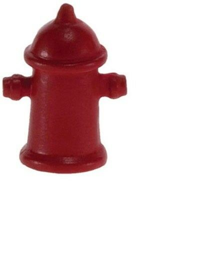Miniature Dollhouse FAIRY GARDEN Accessories ~ Red Fire Hydrant ~ NEW