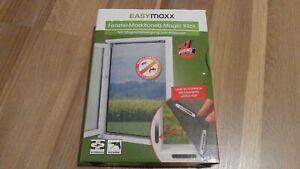 Moskitonetz Magic Klick Fliegengitter 2x Easymaxx Fenster Insektenschutzgitter Ebay