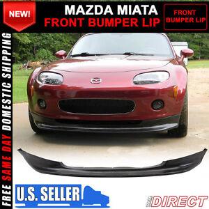 06 08 Mazda Miata Mx 5 Mx5 Gv Front Bumper Lip Spoiler Ebay
