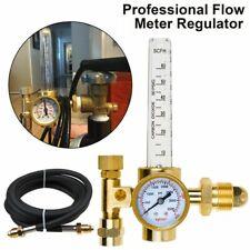 Argon Mig Tig Flow Meter Regulator Gauge With Hose Gas Welding Machine For Miller