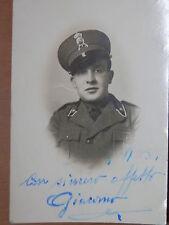 Foto militare Regio Esercito Italiano 52 reggimento fanteria ALPI Spoleto 1939