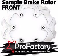 Honda Nx 650 Nx650 Front Brake Rotor Disc Pro Factory Braking 1988-2004 on Sale