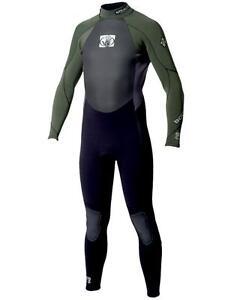 Body Glove Wetsuit STEALTH 5/4mm schw-grün Herren Neoprenanzug Surf Kite Anzug
