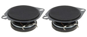"""Pair PowerBass S-275CF 2.75"""" OEM Replacement Speakers For Chrysler+Ford Vehicles"""