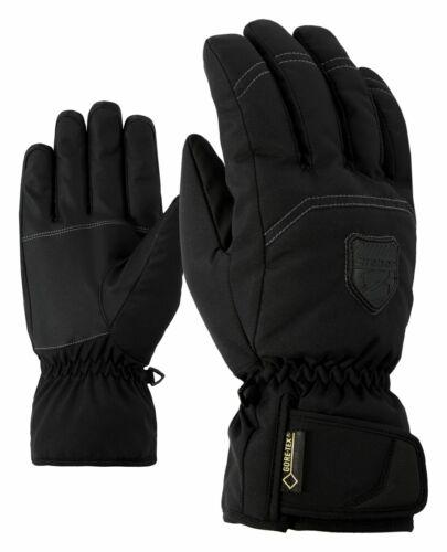 Ziener Herren Skihandschuhe GUFFERT GORETEX® Membrane schwarz