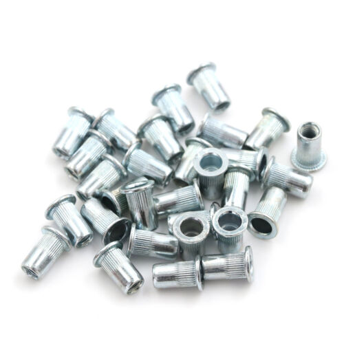 30 Stück M5 Gewinde Blue white zinc Einsatz Nutsert PDH