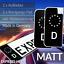2x-Kennzeichen-Aufkleber-Schwarz-Nummernschild-EU-Feld-Blau-D-Sticker-Set-MATT Indexbild 1
