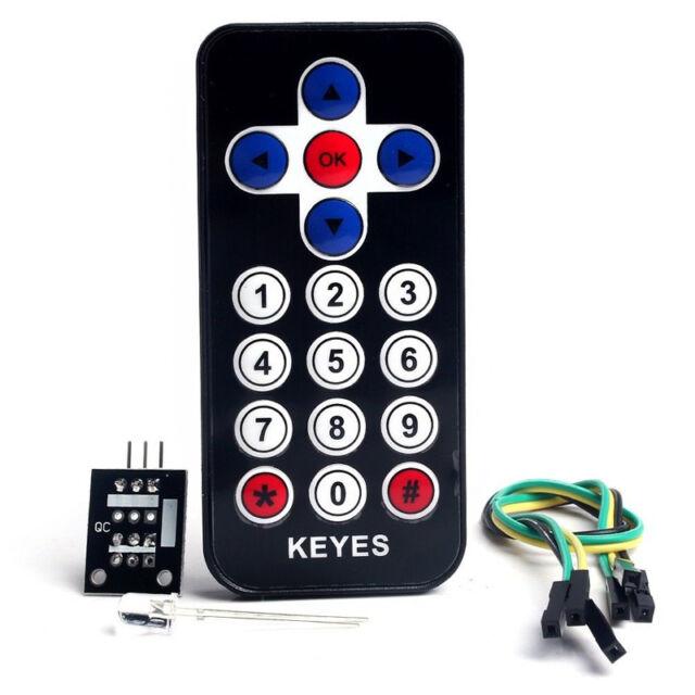 IR Infrared Wireless Remote Control Sensor Board 38KHZ Kits for Arduino AVR PIC
