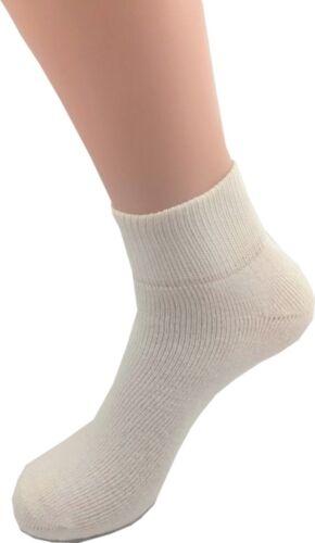 Black Ankle Full Cushioned Sport Socks Men/'s FOOT LOCKER 6 12 Pair Pack White