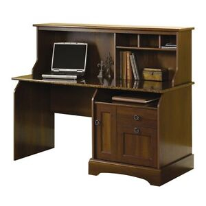Sauder 174 Graham Ridge Computer Desk With Hutch European