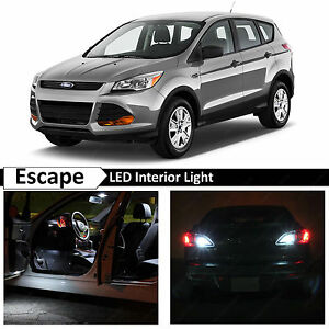 white license plate reverse led lights   ford escape ebay