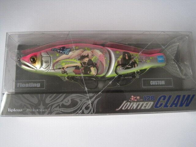 Gan Craft Articulado Claw 178 Tipo-F Tsutenkaku réplica en Color limitada Nuevo En Paquete