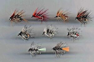 Trout-Flies-Snatcher-s-amp-Hairy-s-x-9-all-size-10-code-144