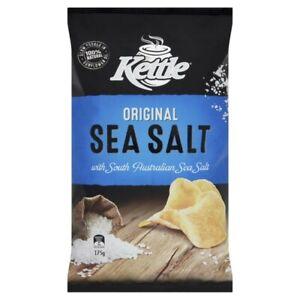 Kettle Original Sea Salt with South Australian Sea Salt Potato Chips 175g