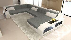 Wohnlandschaft Matera Xxl Design Couch Luxus Sofa Stoff