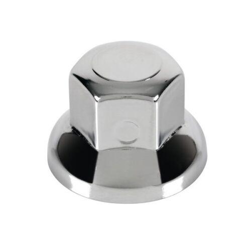 Ø 32 mm Set 10 copribulloni in acciaio inox lucidato