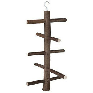 Wooden-Hanging-Swing-Climbing-Frame-Ladder-Play-Toy-For-Aviary-Perch-Bird-ujkl
