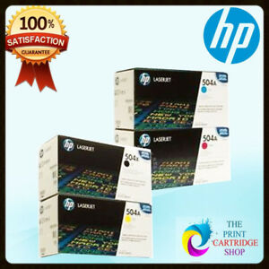 HP-Genuine-CE250X-CE251A-CE252A-CE253A-Toner-Set-gt-LJ-CM3530-CP3525-504A-504X