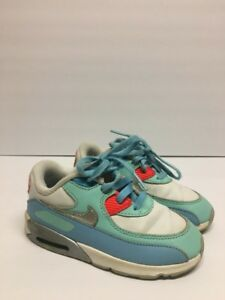 buy online 7f3d0 c78ac Image is loading Nike-Air-max-girls-shoes-size-9-c-
