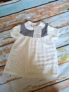 709b13a5ae6a8 Baby Girls Beautiful Spanish Pex Knitted Dress 0-3M 3-6M 6-9M 9-12M ...