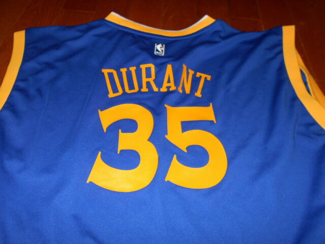 brand new be92c e0ba4 NBA adidas Golden State Warriors Kevin Durant Jersey 4xl