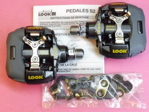 Look S2 Clipless Mtb pedals NOS