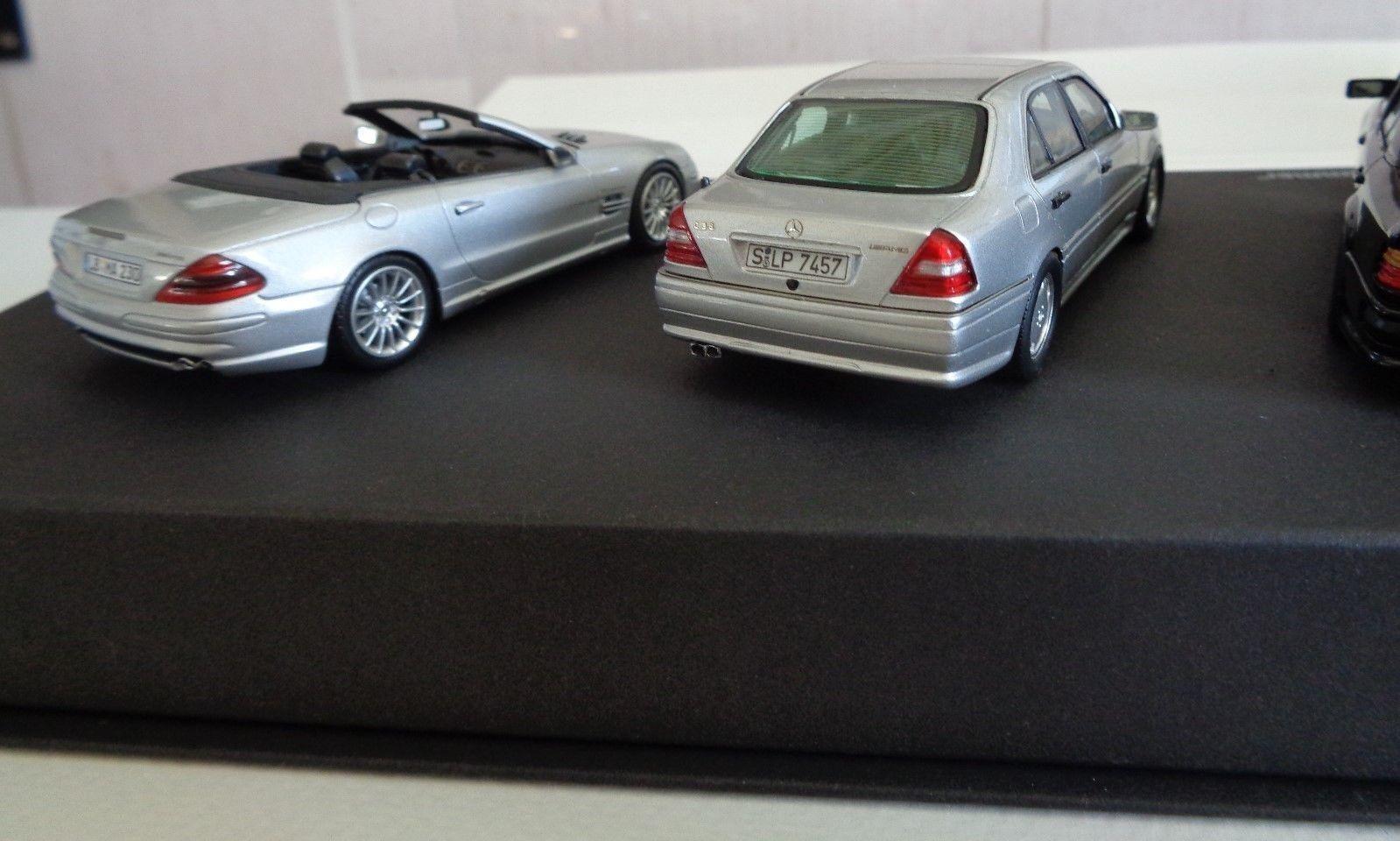 AMG Mercedes-Benz 1/43 Set 40 ans de perforFemmece, Minichamps/Spark très très très rare!!! | Matériaux De Haute Qualité  | Modèles à La Mode  | Vente Chaude  db1a42
