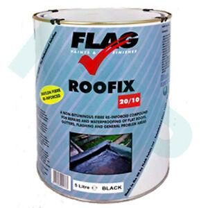 Roofix-20-10-Multisurface-5Ltr-toit-amp-gouttiere-reparation-faite-par-pavillon-peintures-ltd