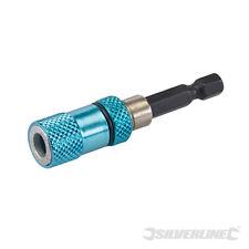 Silverline ~ Trockenbau - Bithalter 1/4-Zoll magnetisch für Rigips 633646