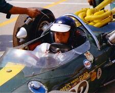 JIM CLARK LOTUS  1965 INDY WINNER #82 500 8 X 10 PHOTO COCKPIT FI CHAMPION