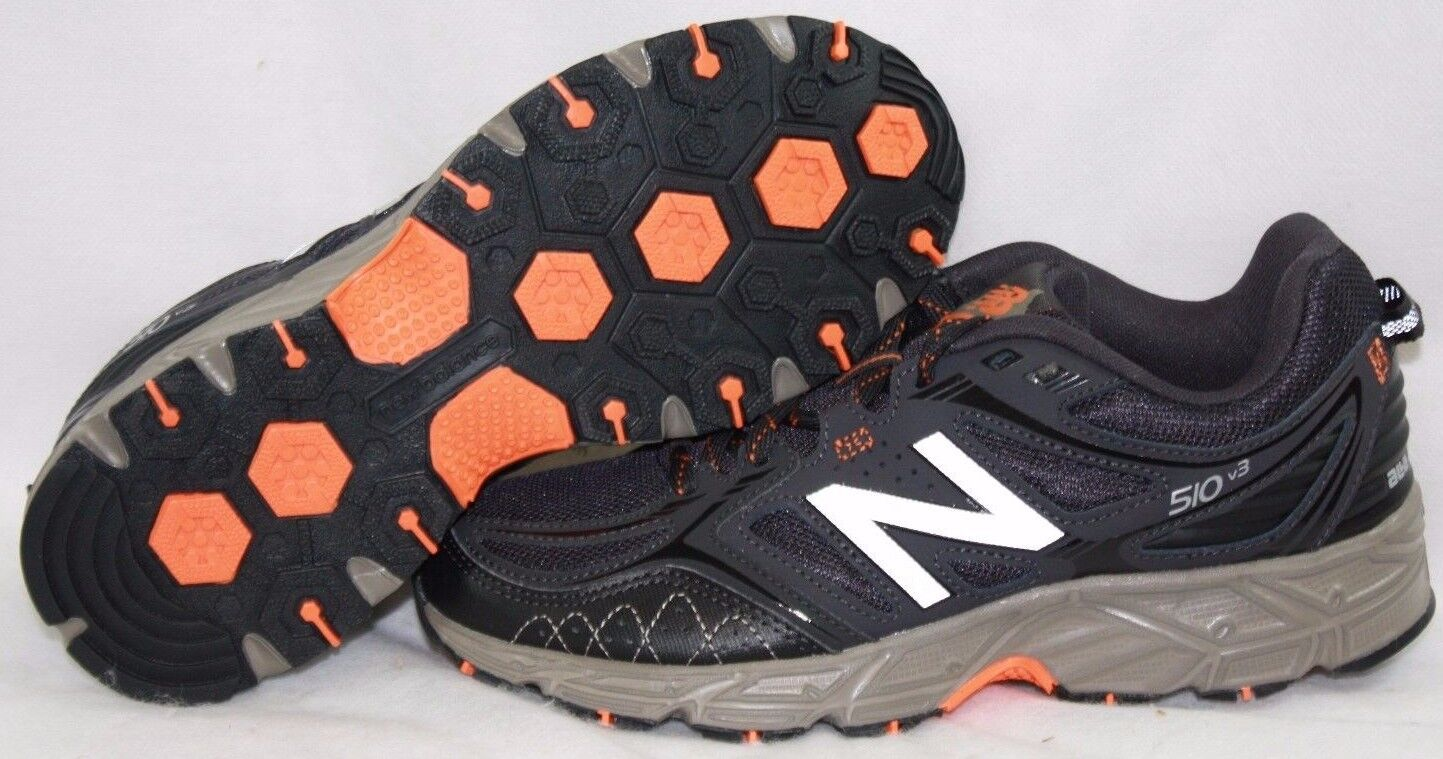 NEW Uomo NEW BALANCE 510 510 510 RB3 Marronee arancia Trail Running scarpe da ginnastica scarpe 030037