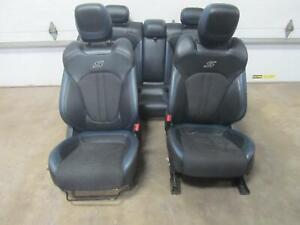 15-17-CHRYSLER-200-Seat-Set-034-S-034-Leather-Power-Black-Blue-OEM