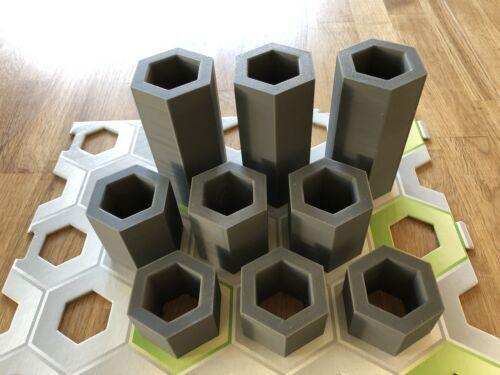 Au lieu de hauteurs gravitrax pierres 9 piliers dans les hauteurs 30,50,100 mm-Nouvelle version