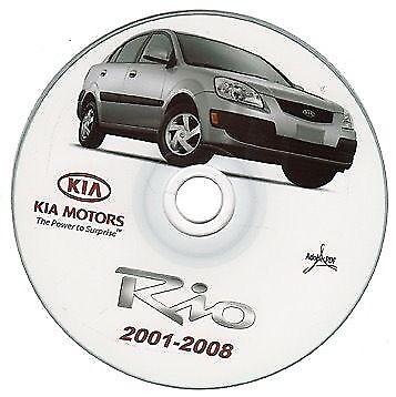 Kia Rio manuale officina workshop manual