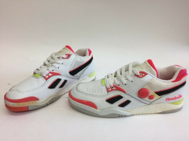 aa6c0bc2576 RARE MENS SIZE 9 REEBOK PUMP LOW MICHAEL CHANG TENNIS SNEAKERS 6-6229  VINTAGE