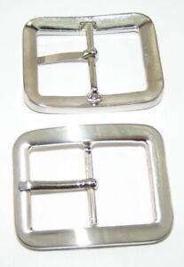 Lederbearbeitung & Accessoires Liberal 1 Gürtelschnalle Schließe Farbe Silber 4cm Rostfrei 08.161/818 Einfach Und Leicht Zu Handhaben