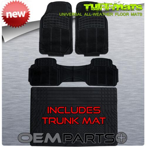 Floor Mats 4pc Set COMBO with TRUNK MAT for MERCEDES BENZ COUPES SEDANS C E S CL