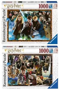 2-PUZZLE-HARRY-POTTER-1000-PIECES-Ravensburger-15170-Ravensburger-15171