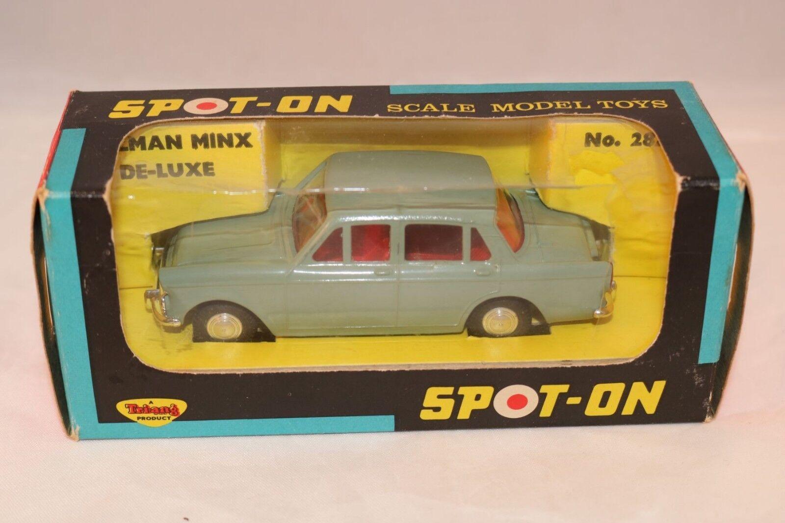 Spot-on Spoton 287 Hillman Minx De Luxe perfect mint in box a beauty
