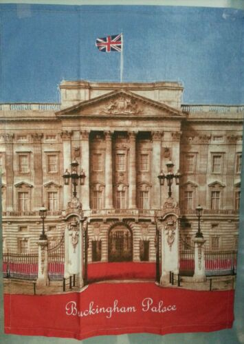 TEA TOWEL GESCHIRRTUCH BUCKINGHAM PALACE