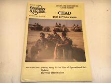 "Mint #144 Strategy & Tactics Magazine + Wargame ""Chad -The Toyota Wars"" Khadaffi"