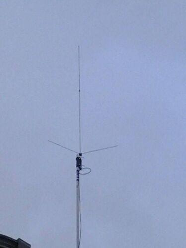 200 watt GP462 GMRS  Fiberglass commercial grade base// repeater Antenna  8.5 Db