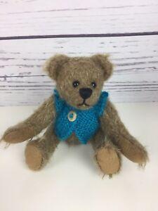 Chayden-Bears-Elsie-Mae-OOAK-Handmade-Mini-Mohair-Artist-Teddy-Bear-5-amp-Clothes