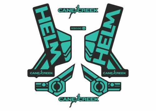 Cane Creek Helm Forks Suspension Factory Decals Stickers Adhesive Dolphin