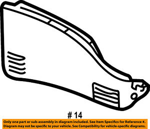 FORD OEM Instrument Panel Dash-Lower Cover XL3Z15044F58AAB