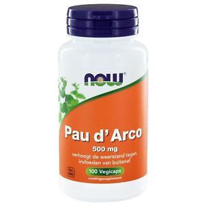 Pau-d-039-Arco-500-mg-100-vegicaps-NOW-Foods