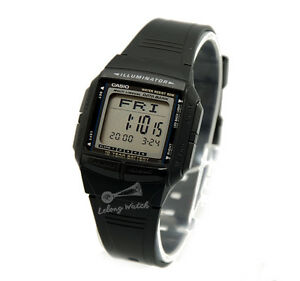 Casio-DB36-1A-Data-Bank-Watch-Brand-New-amp-100-Authentic