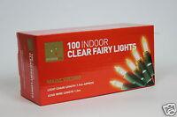 100 indoor clear fairy christmas xmas lights bulbs party decoration
