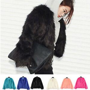 New-Sexy-Women-Warm-Winter-Shaggy-Faux-Fur-Trench-Parka-Coat-Jacket-Slim-Outwear